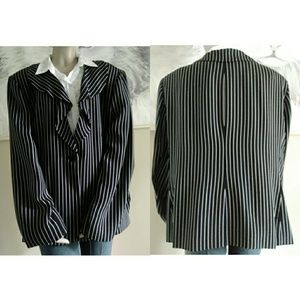Jones New York Collection Striped Blazer size 24